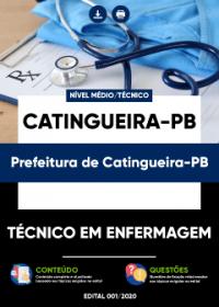 Técnico em Enfermagem - Prefeitura de Catingueira-PB