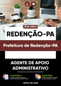 Agente de Apoio Administrativo - Prefeitura de Redenção-PA