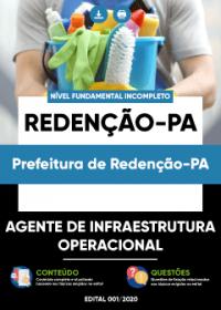 Agente de Infraestrutura Operacional - Prefeitura de Redenção-PA