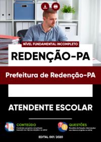 Atendente Escolar - Prefeitura de Redenção-PA