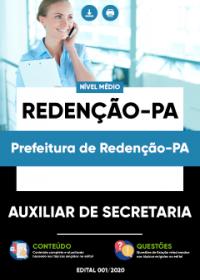 Auxiliar de Secretaria - Prefeitura de Redenção-PA