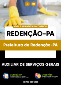 Auxiliar de Serviços Gerais - Prefeitura de Redenção-PA