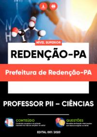 Professor PII - Ciências - Prefeitura de Redenção-PA