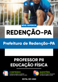 Professor PII - Educação Física - Prefeitura de Redenção-PA