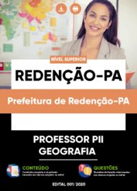 Professor PII - Geografia - Prefeitura de Redenção-PA