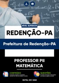Professor PII - Matemática - Prefeitura de Redenção-PA