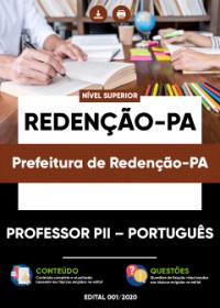 Professor PII - Português - Prefeitura de Redenção-PA