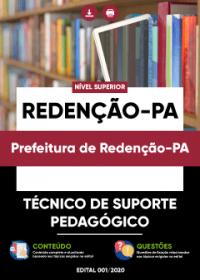 Técnico de Suporte Pedagógico - Prefeitura de Redenção-PA