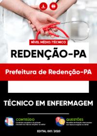 Técnico em Enfermagem - Prefeitura de Redenção-PA