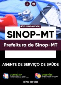 Agente de Serviço de Saúde - Prefeitura de Sinop-MT