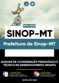 Auxiliar de Coordenação Pedagógica e outro - Prefeitura de Sinop-MT
