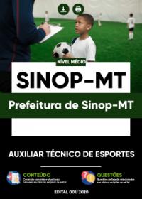 Auxiliar Técnico de Esportes - Prefeitura de Sinop-MT