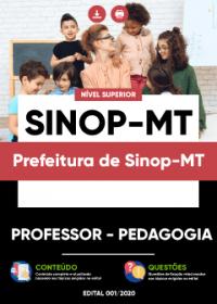 Professor - Pedagogia - Prefeitura de Sinop-MT