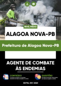 Agente de Combate às Endemias - Prefeitura de Alagoa Nova-PB