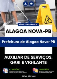Auxiliar de Serviços, Gari e Vigilante - Prefeitura de Alagoa Nova-PB