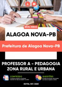 Professor A - Prefeitura de Alagoa Nova-PB
