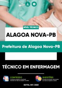 Técnico em Enfermagem - Prefeitura de Alagoa Nova-PB