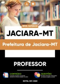 Professor - Prefeitura de Jaciara-MT