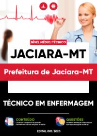 Técnico em Enfermagem - Prefeitura de Jaciara-MT