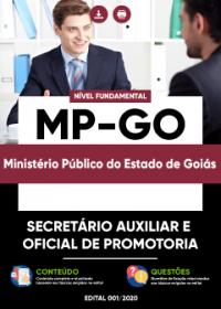 Secretário Auxiliar e Oficial de Promotoria - MP-GO