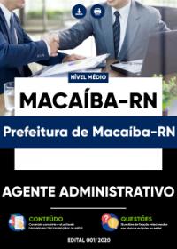 Agente Administrativo - Prefeitura de Macaíba-RN