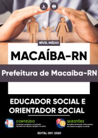 Educador Social e Orientador Social - Prefeitura de Macaíba-RN