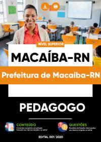 Pedagogo - Prefeitura de Macaíba-RN