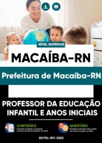 Professor da Educação Infantil e Anos iniciais - Prefeitura de Macaíba-RN