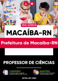 Professor de Ciências - Prefeitura de Macaíba-RN