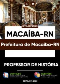 Professor de História - Prefeitura de Macaíba-RN