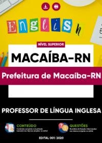 Professor de Língua Inglesa - Prefeitura de Macaíba-RN