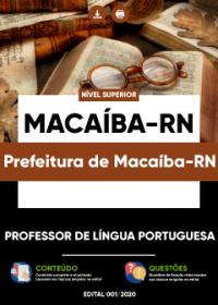 Professor de Língua Portuguesa - Prefeitura de Macaíba-RN
