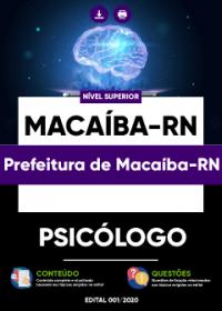Psicólogo - Prefeitura de Macaíba-RN