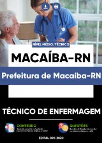 Técnico de Enfermagem - Prefeitura de Macaíba-RN
