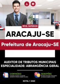 Auditor de Tributos Municipais - Abrangência Geral - Prefeitura de Aracaju-SE