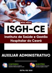 Auxiliar Administrativo - ISGH-CE