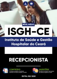 Recepcionista - ISGH-CE