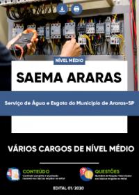 Vários Cargos de Nível Médio - SAEMA Araras