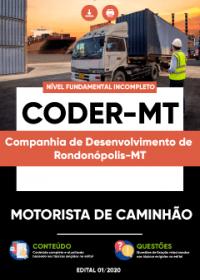 Motorista de Caminhão - CODER-MT