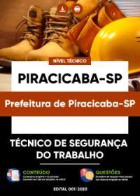 Técnico de Segurança do Trabalho - Prefeitura de Piracicaba-SP