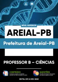 Professor B - Ciências - Prefeitura de Areial-PB