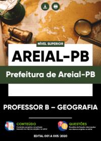Professor B - Geografia- Prefeitura de Areial-PB
