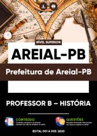 Professor B - História - Prefeitura de Areial-PB