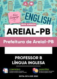 Professor B - Língua Inglesa - Prefeitura de Areial-PB