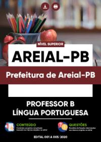 Professor B - Língua Portuguesa - Prefeitura de Areial-PB