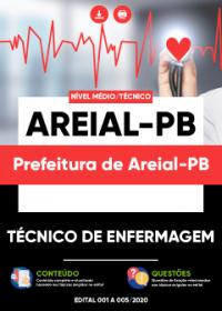 Técnico de Enfermagem - Prefeitura de Areial-PB