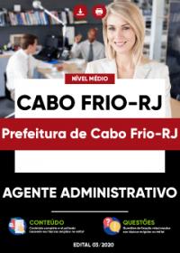Agente Administrativo - Prefeitura de Cabo Frio-RJ