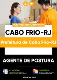 Agente de Postura - Prefeitura de Cabo Frio-RJ