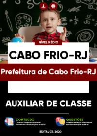 Auxiliar de Classe - Prefeitura de Cabo Frio-RJ