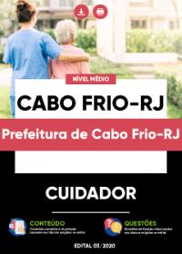 Cuidador - Prefeitura de Cabo Frio-RJ